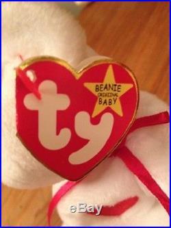 Rare Beanie babies + 132 common beanie babies