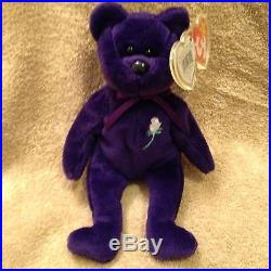 24944dcacc6 Rare MUSEUM Mint 1st Edition Princess Diana 1997 Retired Beanie Baby NWT  Acrylic