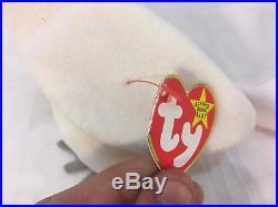 Rare Retired Kuku The Bird Beanie Baby Many Ty Ear Tag Bottom Tush Tag Errors