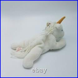 Rare TY Beanie Baby Mystic The Unicorn Retired With Tag Errors