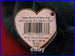 Rare TY Beanie Baby Rainbow Bear Original Collectible with Major Tag Errors