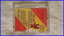 Rare TY Beanie babies Trading card Silver #1 Bear 547/555 Series 2