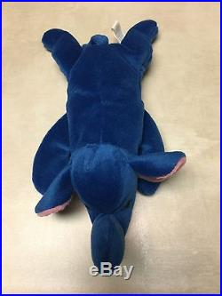 Rare Ty Peanut Beanie Baby 1993 Royal Blue Rare Beanie Babies