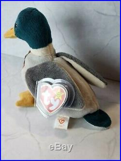 Rare Ty Beanie Babies Jake, 1997/1998 Red Stamp on Tush Tag Birthday Written Out