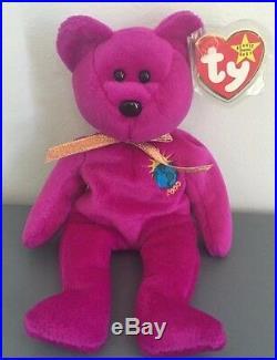 9bfa38d1da4 Rare Ty Beanie Babies Millennium (Millenium) Error
