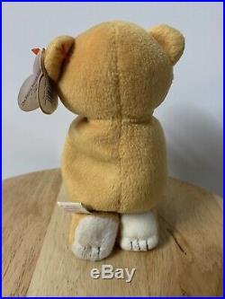 Rare Ty Beanie Baby Hope the Praying Bear (1998)