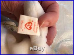 Rare Ty Beanie Baby Mystic unicorn