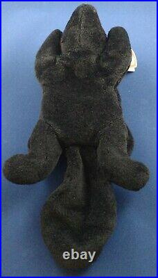 Rare Ty Beanie Baby Stinky the Skunk, Tag Errors and PVC Pellets Retired