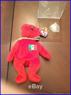 Rare Ty Osito Beanie Baby with errors, mint condition