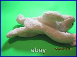 Rare Ty Retired Beanie Baby Fleece 1996 Nwt Tag Errors