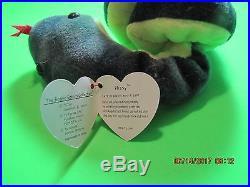 Rare Ty Retired Beanie Baby Hissy 1997 Nwt Tag Errors