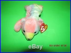 Rare Ty Retired Beanie Baby Sammy 1998 Nwt Tag Errors