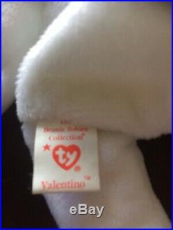 Rare Ty Valentino Beanie Baby