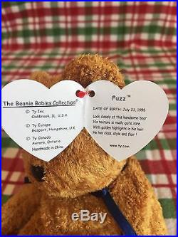 b63b5f05077 Retired RARE Fuzz Beanie Baby Tag Errors and more. Considering all offers