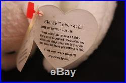 Retired Rare Beanie Baby Fleece