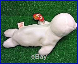 SEAMORE The SEAL 1996 Retired TY BEANIE BABY Rare PVC Plush Toy NO STAR MWMT