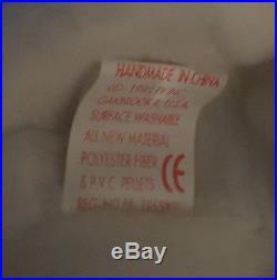 SUPER RARE TY 1993 VALENTINO BEANIE BABY In Case