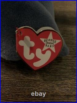Scoop the Pelican Beanie Baby ERRORS VERY RARE (WHITE STAR TAG) Retired TY 1996