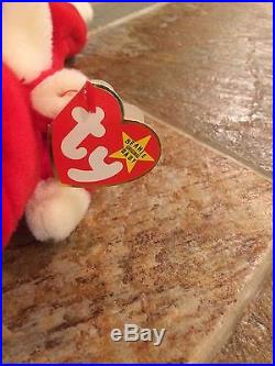 Snort the bull beanie baby. 1995 Retired Rare. No Stamp- PVC Pellets- No Star