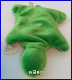 Speedy Ty Beanie Baby 1st Gen RARE! Very clean near mint