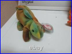 Steg Ty Dye Lizzy Rare Beanie Ty Baby Indonesian Indonesia Peace Leaves Internet
