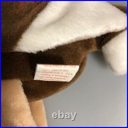 Stretch TY Beanie Baby Stretch Ostrich Rare 1997 Tag errors & PE pellets retired