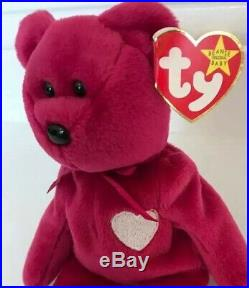 TY BEANIE BABIES VALENTINA THE BEAR 1998 Rare Retired Vintage & Collectable