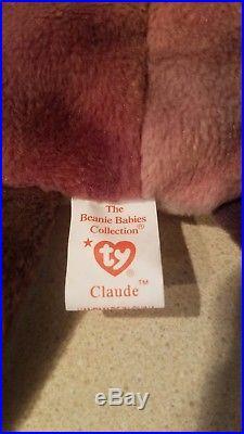 Claude Rare Beanie Babies