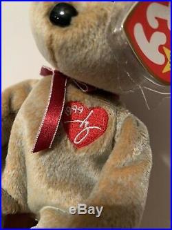 TY Beanie Babies Signature Bear 1999 RARE MINT