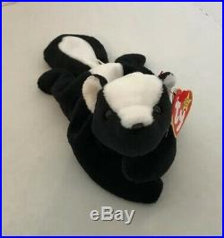 TY Beanie Babies Stinky The Skunk # 4017 1995 Retired Rare Vintage Collectable