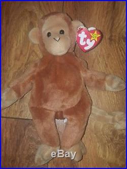 TY Beanie Baby Bongo Style 4067 Rare