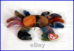 TY Beanie Baby CLAUDE The Crab 150144c584aa