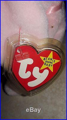 TY Beanie Baby Hoppity RETIRED 1996 Many Rare Errors