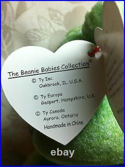TY Beanie Baby Kicks rare with Tag Error