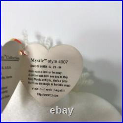 TY Beanie Baby Mystic the Unicorn 1994 Tan Horn PVC ERRORS EXTREMELY RARE