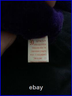 TY Beanie Baby Princess Diana Bear Rare 1997 with Errors