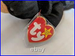 TY Beanie Baby Rare Retired Original Pristine Mint Condition 1994 Blackie Bear
