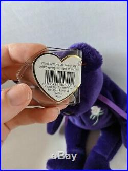 TY Beanie Baby Rare Retired Original Pristine Mint Condition 1997 Princess Diana