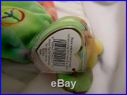 TY Beanie Original Baby Peace Feb 1,1996 Very Rare Original With Errors