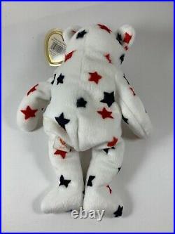 TY GLORY Beanie Baby RARE 1997 Hang Tag / 1998 Tush Tag / Numbered Tush Tag