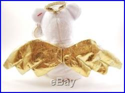TY Halo II Beanie Baby 2 Retired 2000 Nose Error Angel Wings Rare