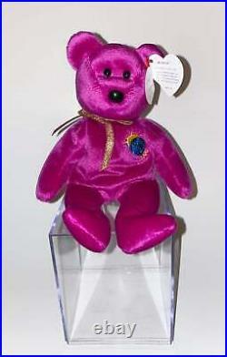 TY Millenium Bear Beanie Baby Rare! Misprint errors 1999
