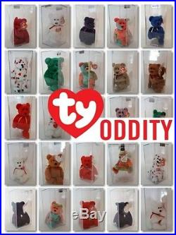 TY Princess Diana Teddy Oddity Without Rose 1st Edition Authentic PVC RARE MWMT