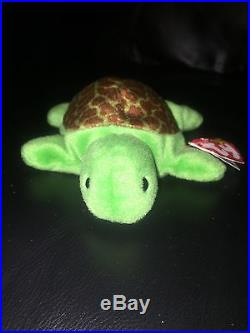 75f983f8317 TY Speedy Beanie Baby- Retired 1993- Rare With Lots Of Errors