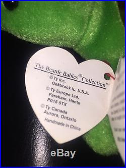 TY Speedy Beanie Baby- Retired 1993- Rare With Lots Of Errors