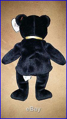 The End ty Beanie Baby 1999 with RARE Tag