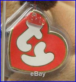 Ty Authenticated Derby Fine Mane Ultra Rare 3rd gen Beanie Baby MWMT MQ (AP)
