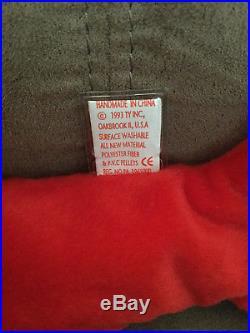 Ty Beanie Babie'Pinchers VERY RARE NEW MWMT PVC Collectors Item Tag Rarities