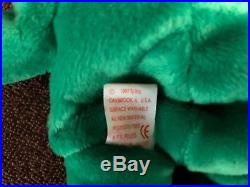 Ty Beanie Babies Erin 1997 Rare Retired With Tag Errors Excellent Condition
