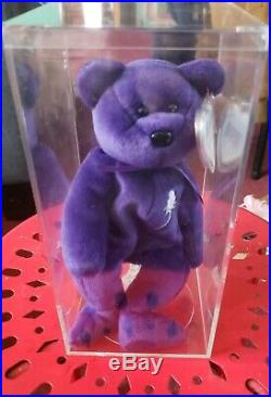 Ty Beanie Baby 1997 PRINCESS (Diana) Bear RARE & RETIRED Lot 481 Red Stamped